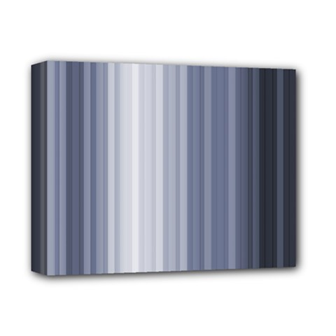 Gray Line Deluxe Canvas 14  X 11  by Jojostore