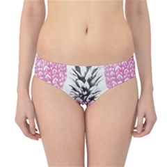 Cute Pink Pineapple  Hipster Bikini Bottoms by Brittlevirginclothing