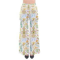 Pastel Flowers Pants by Brittlevirginclothing