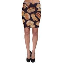 Delicious Snacks Bodycon Skirt by Brittlevirginclothing