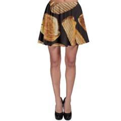Delicious Snacks Skater Skirt by Brittlevirginclothing