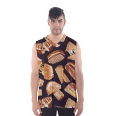Delicious Snacks Men s Basketball Tank Top by Brittlevirginclothing