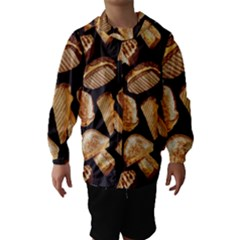 Delicious Snacks Hooded Wind Breaker (kids) by Brittlevirginclothing