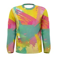 Paint Brush Men s Long Sleeve Tee by Brittlevirginclothing