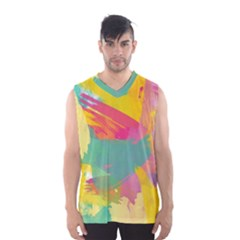 Paint Brush Men s Basketball Tank Top by Brittlevirginclothing