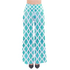 Blue Mosaic Pants by Brittlevirginclothing