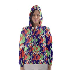 Horse Unicron Hooded Wind Breaker (women)