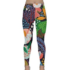 Japanese Inspired  Classic Yoga Leggings by Brittlevirginclothing