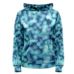 Blue Light  Women s Pullover Hoodie by Brittlevirginclothing