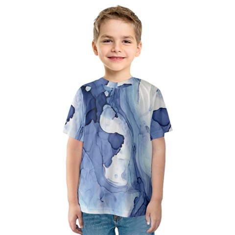 Paint In Water Kids  Sport Mesh Tee by Brittlevirginclothing
