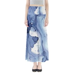 Paint In Water Maxi Skirts by Brittlevirginclothing