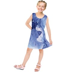Paint In Water Kids  Tunic Dress by Brittlevirginclothing