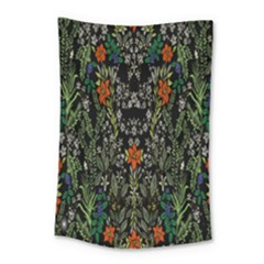 Detail Of The Collection s Floral Pattern Small Tapestry by Jojostore