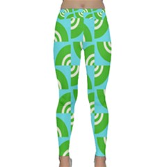 Easy Peasy Lime Squeezy Green Classic Yoga Leggings