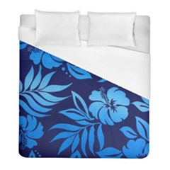 Flower Blue Duvet Cover (full/ Double Size) by Jojostore