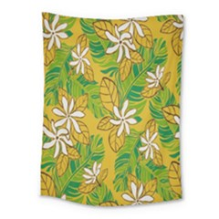 Flower Yellow Medium Tapestry