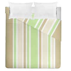 Gray Green Duvet Cover Double Side (queen Size)