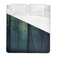 Dark Forest Duvet Cover (full/ Double Size) by Brittlevirginclothing