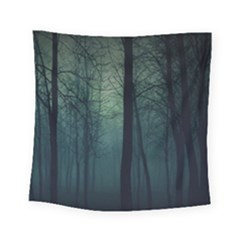 Dark Forest Square Tapestry (small) by Brittlevirginclothing