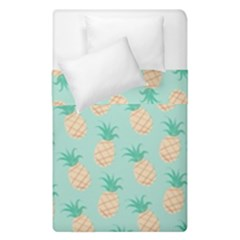 Pineapple Duvet Cover Double Side (single Size) by Brittlevirginclothing