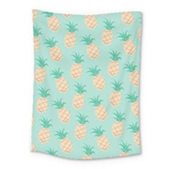 Pineapple Medium Tapestry by Brittlevirginclothing