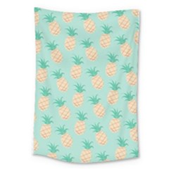 Pineapple Large Tapestry by Brittlevirginclothing