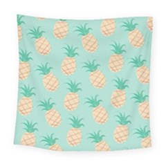 Pineapple Square Tapestry (large) by Brittlevirginclothing