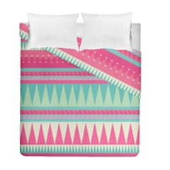 ¨pink Bohemian Duvet Cover Double Side (full/ Double Size) by Brittlevirginclothing