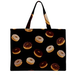 Donuts Zipper Mini Tote Bag by Valentinaart