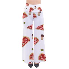 Pizza Pattern Pants by Valentinaart
