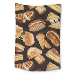 Delicious Snacks Large Tapestry by Brittlevirginclothing