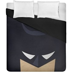 Batman Duvet Cover Double Side (california King Size) by Brittlevirginclothing