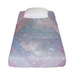 Pastel Crystal Fitted Sheet (single Size) by Brittlevirginclothing