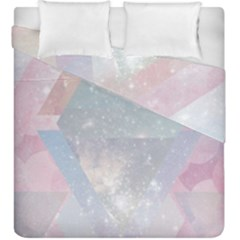 Pastel Crystal Duvet Cover Double Side (king Size) by Brittlevirginclothing