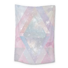 Pastel Crystal Small Tapestry by Brittlevirginclothing