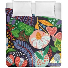 Japanese Inspired Duvet Cover Double Side (california King Size) by Brittlevirginclothing