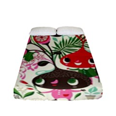 Cute Cartoon Fitted Sheet (full/ Double Size) by Brittlevirginclothing