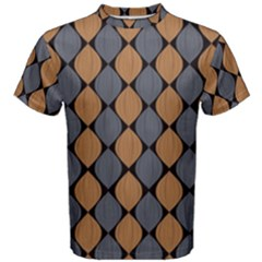 Abstract Seamless Pattern Men s Cotton Tee