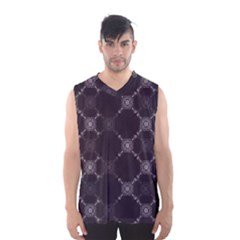 Abstract Seamless Pattern Men s Basketball Tank Top