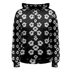 Dark Floral Women s Pullover Hoodie by dflcprintsclothing