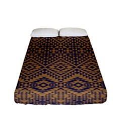 Aztec Pattern Fitted Sheet (full/ Double Size)