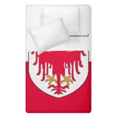 Flag Of South Tyrol Duvet Cover Double Side (single Size) by abbeyz71