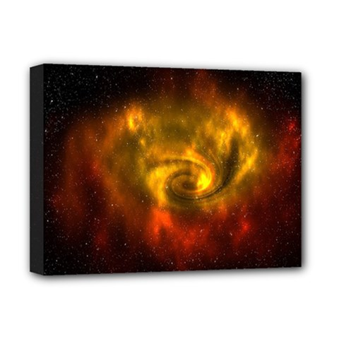 Galaxy Nebula Space Cosmos Universe Fantasy Deluxe Canvas 16  X 12   by Amaryn4rt