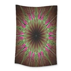 Julian Star Star Fun Green Violet Small Tapestry by Amaryn4rt