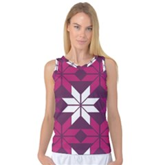 Pattern Background Texture Aztec Women s Basketball Tank Top by Amaryn4rt