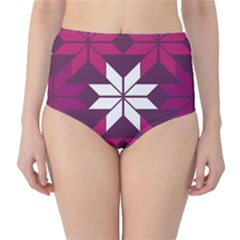 Pattern Background Texture Aztec High Waist Bikini Bottoms