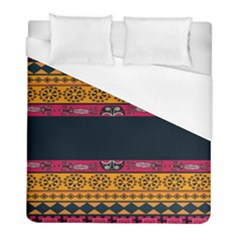 Pattern Ornaments Africa Safari Summer Graphic Duvet Cover (full/ Double Size) by Amaryn4rt