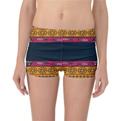 Pattern Ornaments Africa Safari Summer Graphic Reversible Bikini Bottoms by Amaryn4rt