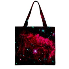 Pistol Star And Nebula Grocery Tote Bag