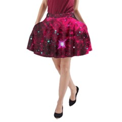 Pistol Star And Nebula A Line Pocket Skirt by Amaryn4rt